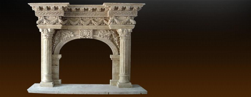 Мармуровий камін ручної роботи  залишить незабутнє враження елегантності …