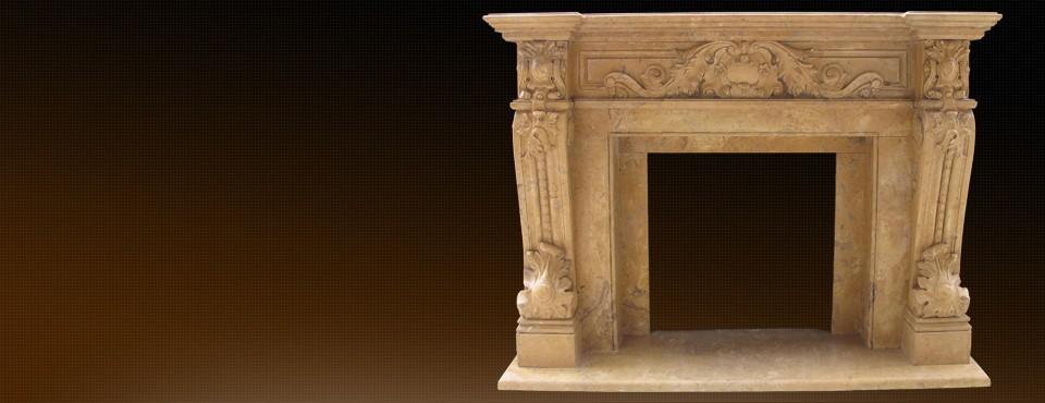 Досконалий дизайн каміну продемонструє всю красу мармуру …